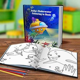 Colouring In Story Books