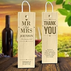 Single Wine Boxes