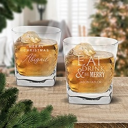 Christmas Tumbler Glasses