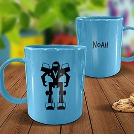 Blue Melamine Mugs