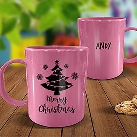 Pink Melamine Mug