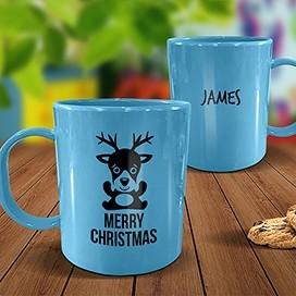 Blue Melamine Mugs