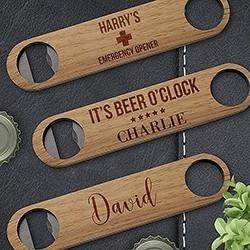 Wooden Bottle Openers