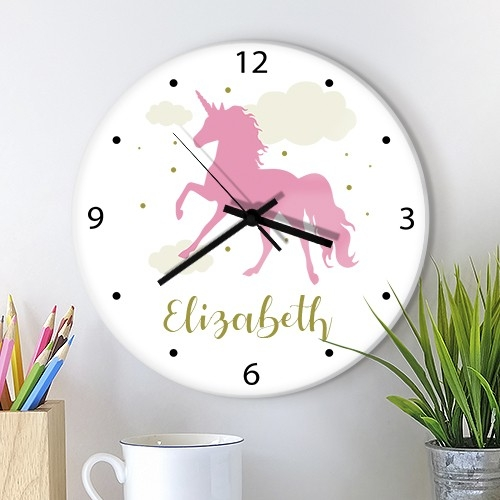 Kids Glass Wall Clocks