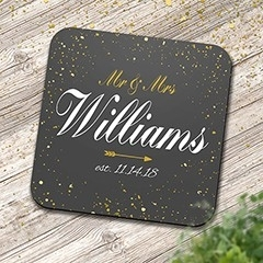 Wedding Square Coasters