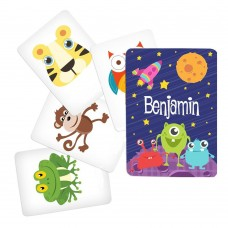 Memory Game with Space Theme - Character Pack 1