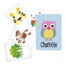 Memory Game with Owl Theme - Character Pack 1