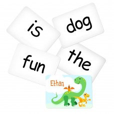 Memory Game with Dino Theme - Sight Words Pack 1