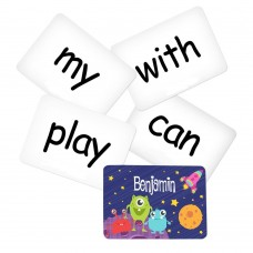 Memory Game with Space Theme - Sight Words Pack 2