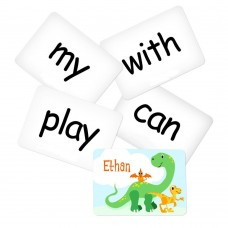 Memory Game with Dino Theme - Sight Words Pack 2