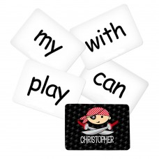 Memory Game with Pirate Theme - Sight Words Pack 2