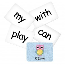 Memory Game with Owl Theme - Sight Words Pack 2