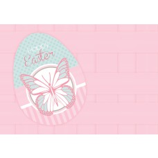 Easter Postcard, Butterfly Design