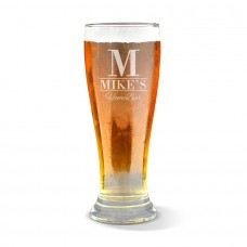 Home Bar Engraved Premium Beer Glass