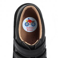 Motorbike Shoe Dot Label