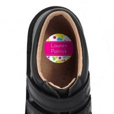 Bubbles Shoe Dot Label