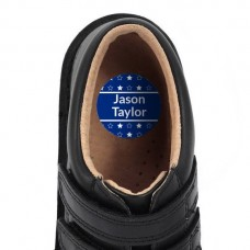 Star Shoe Dot Label