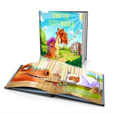 "Personalised Story Book: ""Sleepy Dinosaur"""