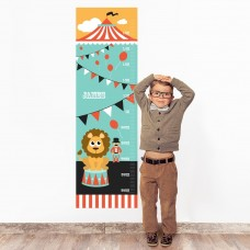 Circus Wall Decal Height Chart