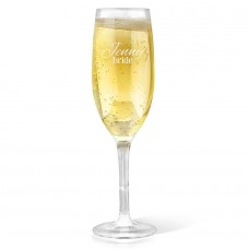 Bride Champagne Glass