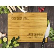 Chop Chop Mum Bamboo Cutting Board