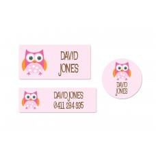 Owl Essentials Label Pack (104 Labels)