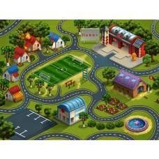 Fire & Rescue Playmat