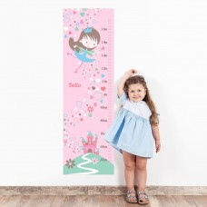 Fairy Wall Decal Height Chart