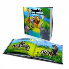 "Personalised Story Book: ""The Safari"""