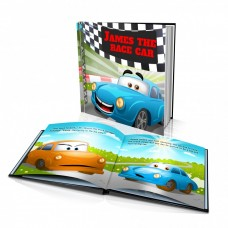 "Personalised Story Book: ""The Race Car"""