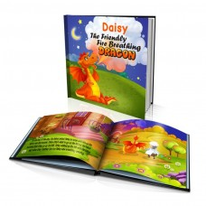 """Personalised Story Book: """"The Friendly Fire Breathing Dragon"""""""