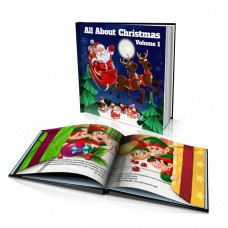 "Personalised Story Book: ""All About Christmas - Volume 1"""