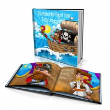 "Personalised Story Book: ""The Pirate Who Forgot How to Say 'Arrggghhh!"""