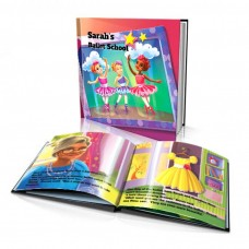 "Personalised Story Book: ""Ballet School"""