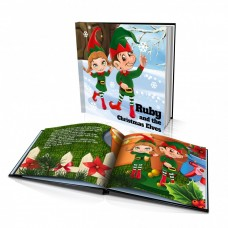 "Personalised Story Book: ""The Christmas Elves"""