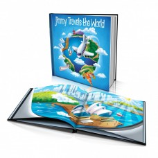 "Personalised Story Book: ""Travels the World"" -  from the U.S.A"