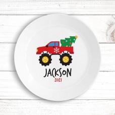 Monster Truck Kids' Plate