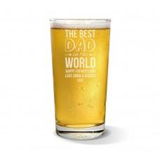 Best Dad Pint Glass