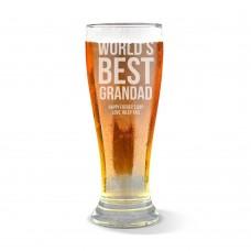 Best Grandad Premium Beer Glass