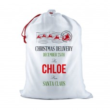 Christmas Delivery White Santa Sack
