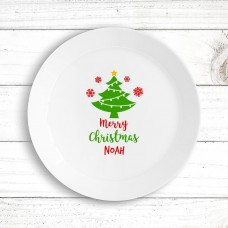 Christmas Tree Kids' Plate