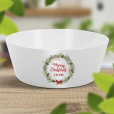 Christmas Wreath Kids' Bowl
