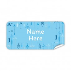 Arrow Rectangle Name Label