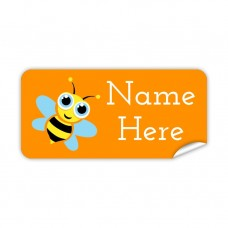 Bee Rectangle Name Label