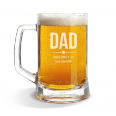 Dad Glass Beer Mug