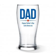Dad Standard Beer Glass