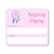 Dream Catcher School Book Label