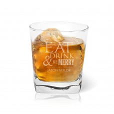 Eat Drink Tumbler Glass
