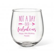 Fabulous Stemless Wine Glass
