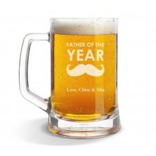 Father Glass Beer Mug
